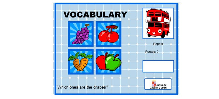 Vocabulary Ingles Primaria